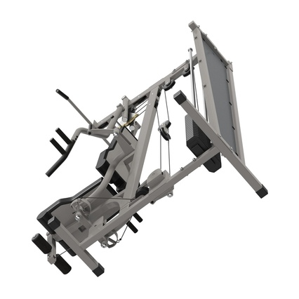 Weight Machine 2. Render 36
