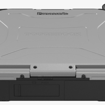 Panasonic Toughbook. Render 15
