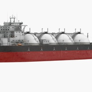 Gas Carrier Ship. Preview 3