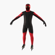 Speed Skater Suit Generic. Preview 3