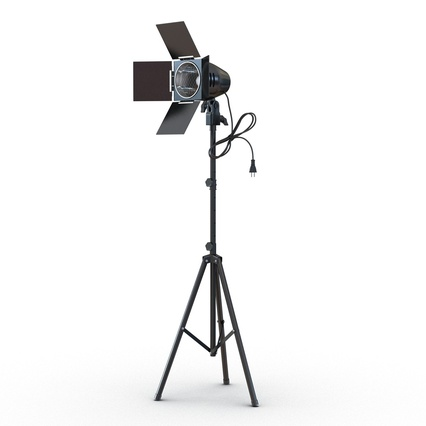 Photo Studio Lamps Collection. Render 3