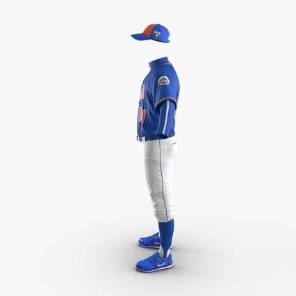 Baseball Player Outfit Mets 2. Render 6