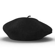 Wool Classic Beret Hat. Preview 5