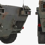 Fennek German Reconnaissance Vehicle Rigged. Preview 25