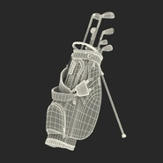 Golf Bag Seahawks with Clubs. Preview 25