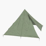 Floorless Camping Tent Open. Preview 6