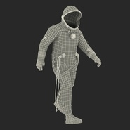 Russian Space Suit Sokol KV2 Rigged. Preview 63