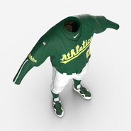 Baseball Player Outfit Athletics 3. Preview 13