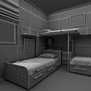 Childrens Bedroom. Preview 33