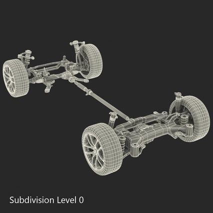 Sedan Chassis. Render 41