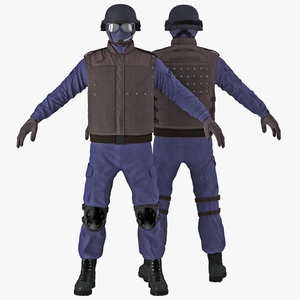 SWAT Uniform. Render 1
