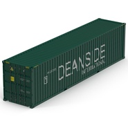 40 ft High Cube Container Green. Preview 12