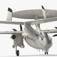 Grumman E-2 Hawkeye Tactical Early Warning Aircraft Rigged. Preview 17