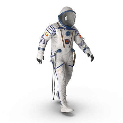 Russian Space Suit Sokol KV2 Rigged. Render 4
