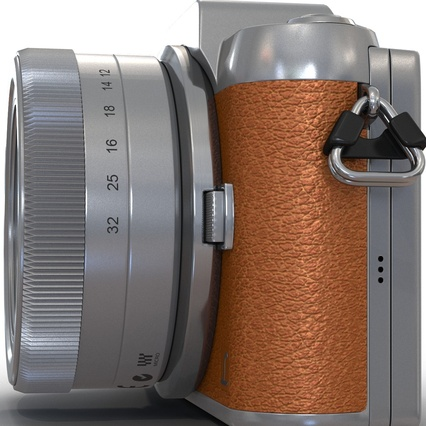 Panasonic DMC GF7 Brown. Render 24