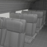 Railroad Amtrak Passenger Car 2. Preview 72
