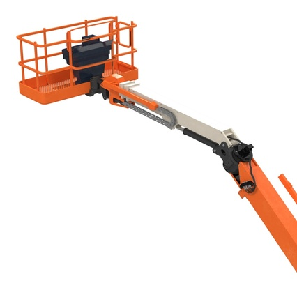 Telescopic Boom Lift Generic 4 Pose 2. Render 51