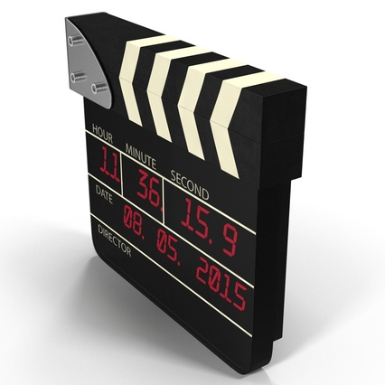 Digital Clapboard 2. Render 6