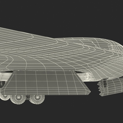 Stealth Bomber B-2 Spirit Rigged. Render 33