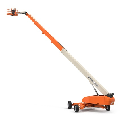 Telescopic Boom Lift Generic 4 Pose 2. Render 7