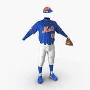 Baseball Player Outfit Mets