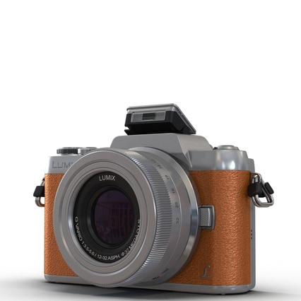 Panasonic DMC GF7 Brown. Render 6