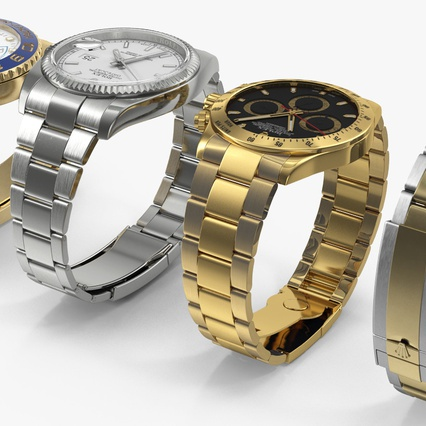 Rolex Watches Collection. Render 9