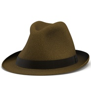 Fedora Hat Brown. Preview 13
