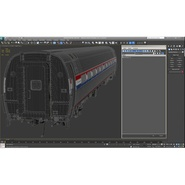 Railroad Amtrak Passenger Car 2. Preview 47