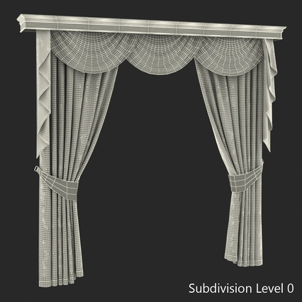 Curtains Collection. Render 64