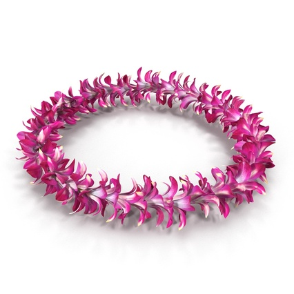 Hawaiian Leis Collection. Render 4
