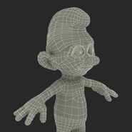 Smurf Rigged for Maya. Preview 47
