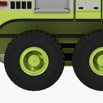 Oshkosh Striker 4500 Aircraft Rescue and Firefighting Vehicle Rigged. Render 20
