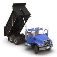 Dump Truck Mack Rigged. Preview 18