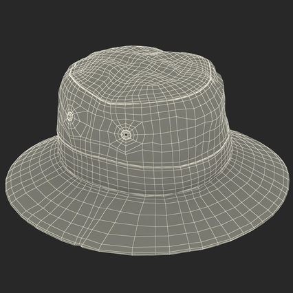 Fishing Hat. Render 29