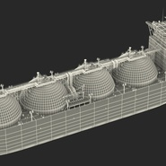 Gas Carrier Ship. Preview 31