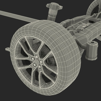 Sedan Chassis. Render 62