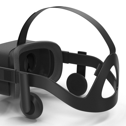 Virtual Reality Goggles Collection. Render 44