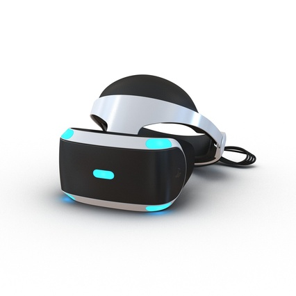 Virtual Reality Goggles Collection. Render 2