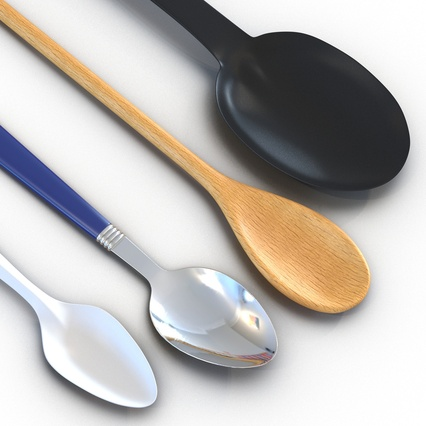 Spoons Collection. Render 10