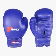 Boxing Gloves Twins Blue