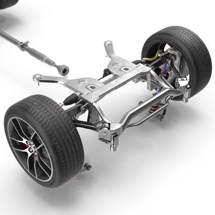 Sedan Chassis. Render 17
