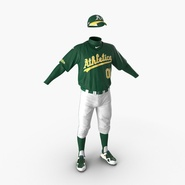 Baseball Player Outfit Athletics 2