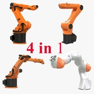 Kuka Robots Rigged Collection 2