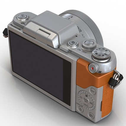 Panasonic DMC GF7 Brown. Render 30