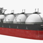 Gas Carrier Ship. Preview 8