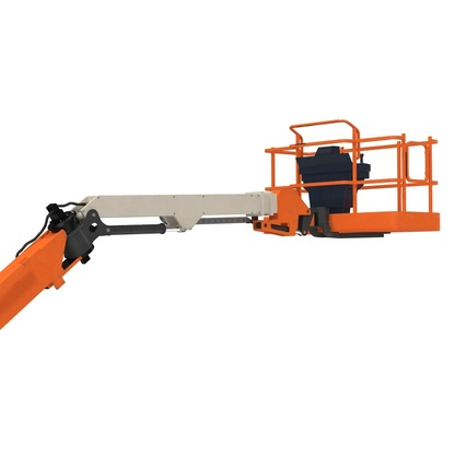 Telescopic Boom Lift Generic 4 Pose 2. Render 52