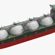 Gas Carrier Ship. Preview 13