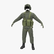 US Helicopter Pilot Uniform