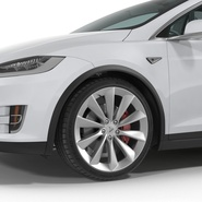 Tesla Model X Rigged. Preview 46